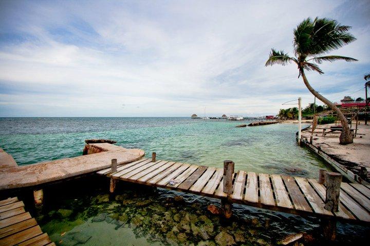 Dock in Caye Caulker, Belize