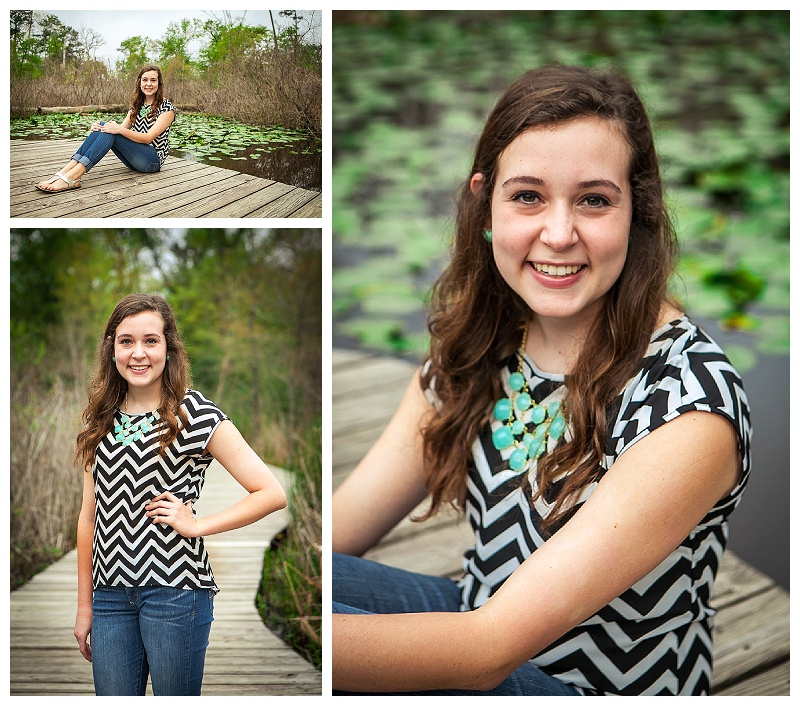 Megan's Senior Portraits - Houston Arboretum